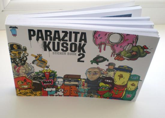 Стикербук Parazita Kusok 2 в Порядке слов